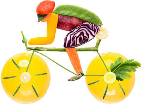 Fruit & veggie bike
